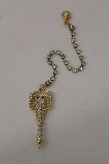 Other Women Back Pendant Necklace Scorpion Gold Chains Fashion Jewelry Silver Bead