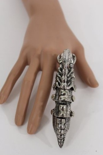 Other Women Men Knuckle Ring Antique Silver Scorpion Body Gothic Fashion