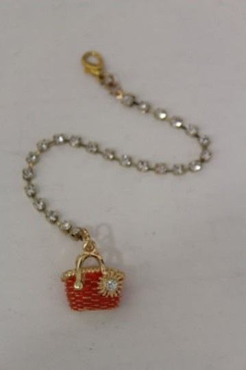 Other Women Back Pendant Necklace Gold Jewelry Silver Bead Beach Bag