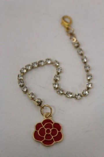 Other Women Back Pendant Necklace Gold Jewelry Silver Beads Flower