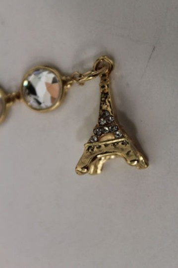 Other Women Back Pendant Necklace Metal Gold Eiffel Tower