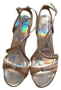 Coloriffics Beige W/Glitter Sandals