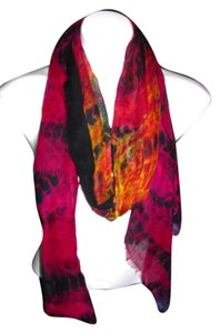 Sheer Light Weight Warm Black Pink Red Orange Yellow Purple Solid #119 Pashmina Scarf Shawl Cashmere/Silk Risdarling / Cashmera Co.