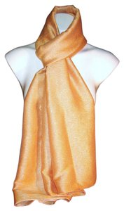 Other Shimmer Coral #140 Pashmina Scarf Shawl Cashmere/ / Cashmera Co.