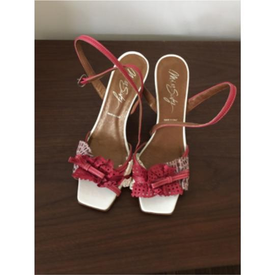 Miss Sixty Red and white Sandals