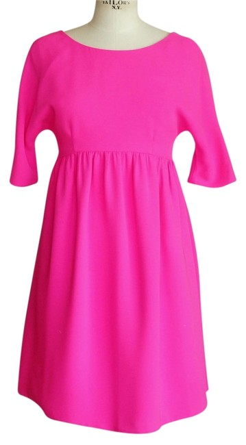 Preload https://img-static.tradesy.com/item/6205219/lisa-perry-hot-pink-neon-pink-babydoll-above-knee-short-casual-dress-size-6-s-0-2-650-650.jpg