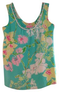 Lilly Pulitzer Top Floral Printed