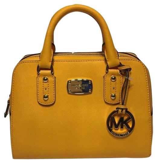 Michael Kors Handbag Satchel in Vintage Yellow