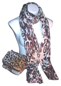 Other Animal Print Black #130 Pashmina Cashmere/Silk / Cashmera Co.