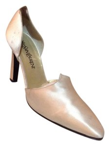 Saint Laurent Champagne Pumps