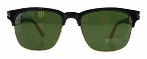 Tom Ford New Tom Ford TF 386 05N Green Black Acetate Sunglasses 55mm Italy