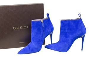 Gucci Blue Boots