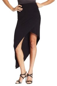 BCBGeneration Asymmetrical Bcbg Slit Maxi Skirt Black