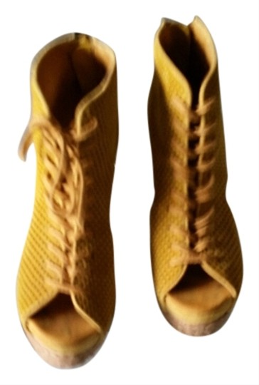 Jeffrey Campbell Yellow yellow suede Wedges
