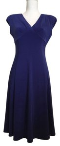 Jones New York short dress Blue Cerulean on Tradesy