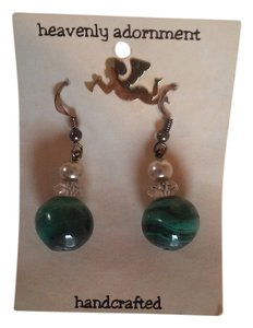 Handmade Beaded French Hook Dangle Drop Earrings
