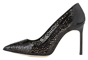 Manolo Blahnik Manolo Bb Heel Black Pumps