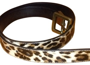 Jessica Simpson Jessica Simpson Cheetah Pattern Belt Size Medium