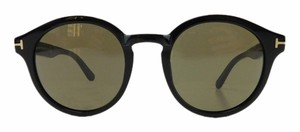 Tom Ford New Tom Ford TF 400 01J Black Acetate Full-Frame Sunglasses 49mm Italy