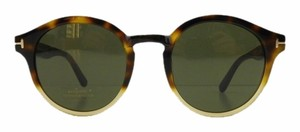 Tom Ford New Tom Ford TF 400 58N Havana Acetate Full-Frame Sunglasses 49mm Italy