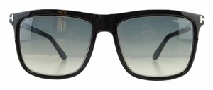 Tom Ford New Tom Ford TF 392 02W Gradient Matte Black Acetate Sunglasses 57mm Italy