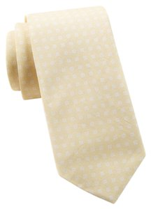 Report Collection Report Collection Square Print Tie Yellow