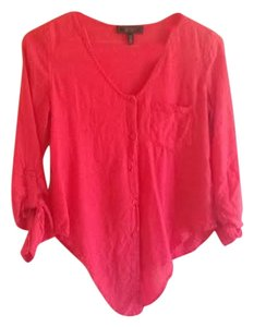 Jessica Simpson Casual Top Coral