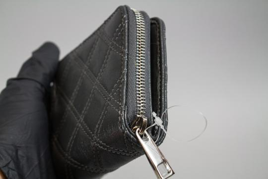 Marc Jacobs * Marc Jacobs Grey Quilted Leather Wallet