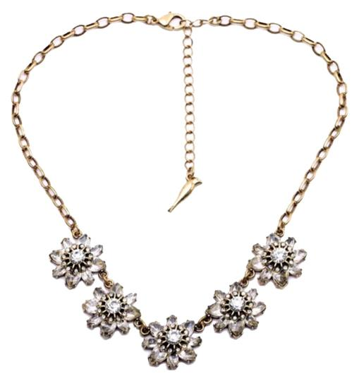 Other Crystal Floral Collar Necklace/Bib/Choker