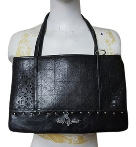 Baby Phat Tote in Black/Silver