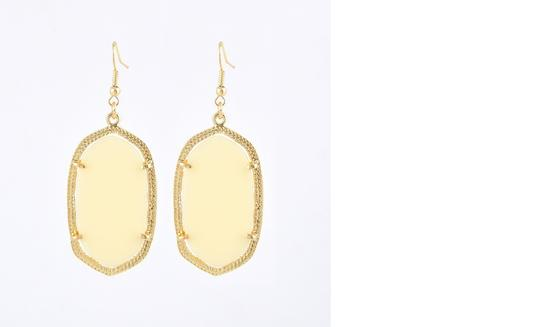 "Other ""Anona"" Ivory Earrings"