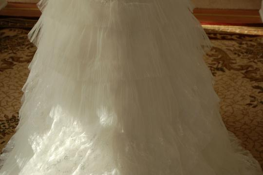 Bonny Bridal Ivory Tulle/Lace Fitted Mermaid And Wedding Dress Size 10 (M)