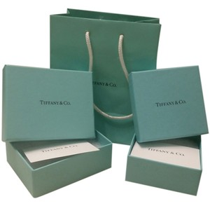 Tiffany & Co. classic tiffany & co. bag and boxes
