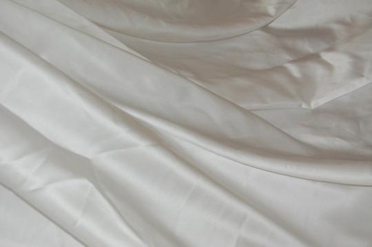 Diamond White Satin A-line Dress Size 8 (M)