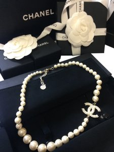 Chanel Chanel 100years Anniversary Pearl Necklace