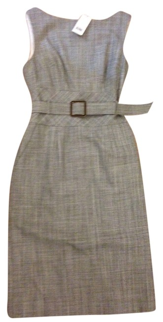 Banana Republic Wool Pencil Belted Woven Fitted Dress