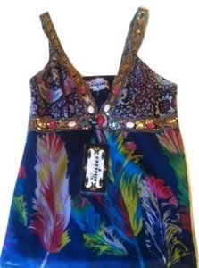 Meghan Colorful Top Multi color- Pattern