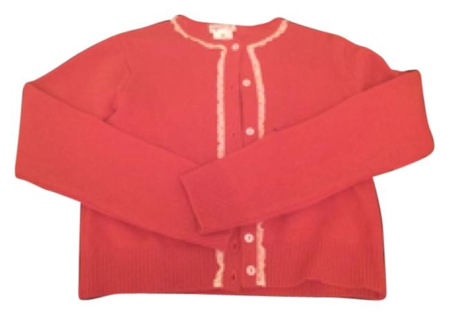 Preload https://item2.tradesy.com/images/agnes-b-red-cardigan-size-10-m-6220996-0-0.jpg?width=400&height=650