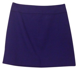 J.Crew Cotton Casual Skirt Purple