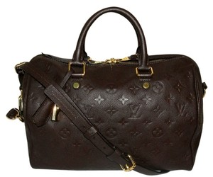 Louis Vuitton Speedy Bandouliere Speedy 30 Empreinte Speedy Satchel in earth