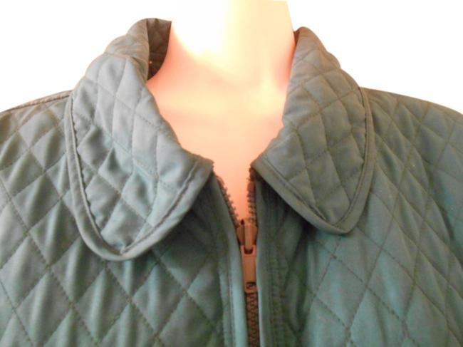 Item - Green Reversible Quilted Large 14 Jacket Size 12 (L)