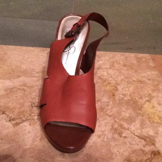 Jessica Simpson Cedar/Brown Pumps