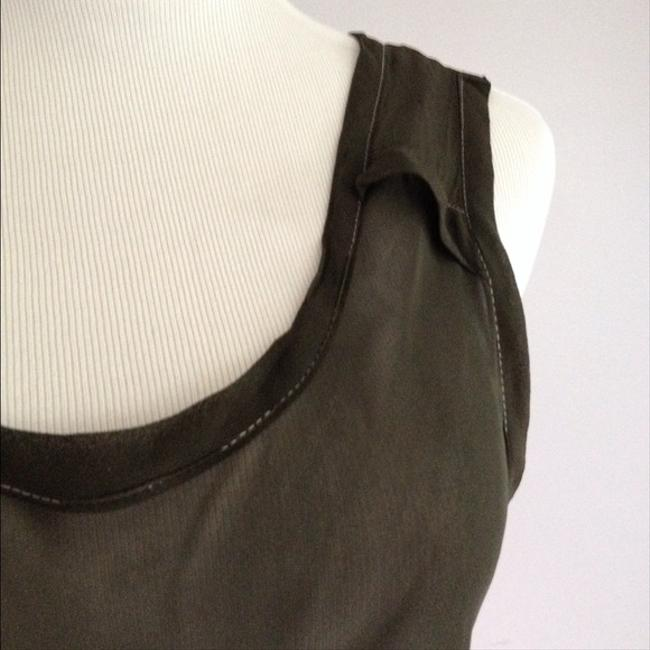 Quinta Colonna Designer Top Olive Green