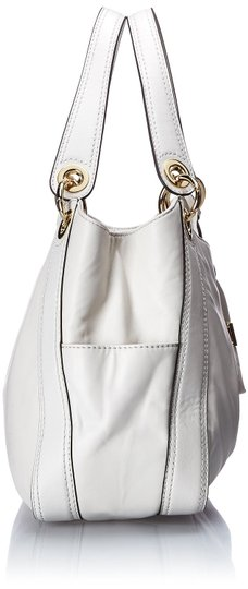 Michael Kors Small Kate Spade Gucci Burberry Celine Chanel Guess Coach Tote Vintage Yellow Saffiano Leather Handbag Sak Backpack Satchel in Vanilla