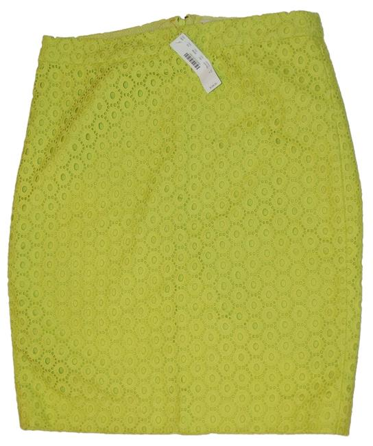 Preload https://item1.tradesy.com/images/jcrew-yellow-long-no-2-pencil-in-circle-eyelit-neon-knee-length-skirt-size-8-m-29-30-6222100-0-0.jpg?width=400&height=650