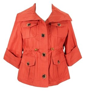 Anne Klein #beltedjacket Trench Coat