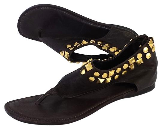 Preload https://item4.tradesy.com/images/tory-burch-brown-leather-studded-sandals-size-us-65-6224893-0-0.jpg?width=440&height=440