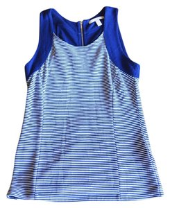 Banana Republic Top Blue/White