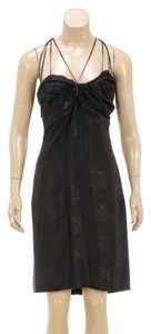Gucci short dress Black on Tradesy