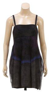 Vera Wang short dress Black Multicolor on Tradesy